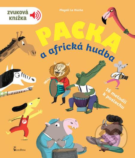 Packa a africká hudba - Zvuková knížka - Axióma