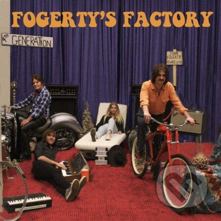 John Fogerty: Fogerty's Factory LP - John Fogerty