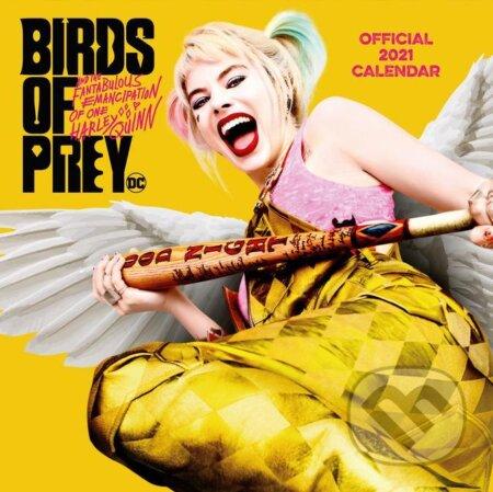 Oficiálny kalendár 2021 DC Comics: Birds of Prey - Harley Quinn