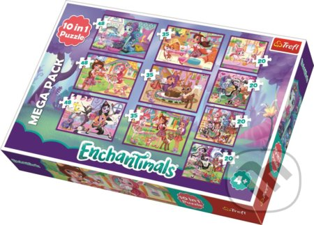 Enchantimals 10v1 - Trefl