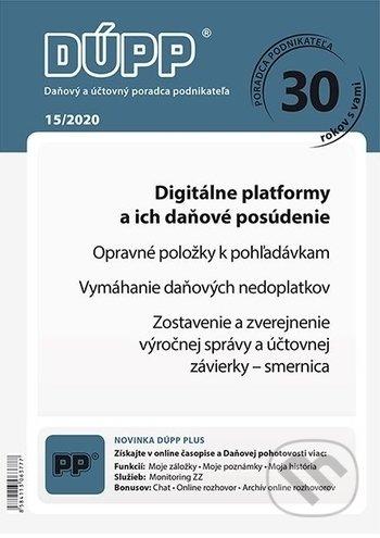 Daňový a účtovný poradca podnikateľa 15/2020 - kolektív autorov