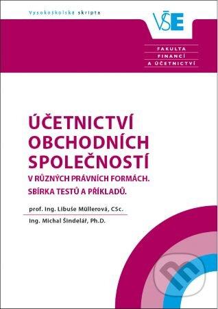 Účetnictví obchodních společností v různých právních formách - Libuše Müllerová, Michal Šindelář