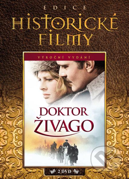 Doktor Živago limitovaná sběratelská edice 2DVD DVD