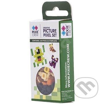 Pixle 250ks s obrázkami zelená - Pixie Crew