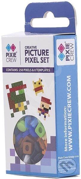 Pixle 250ks s obrázkami modrá - Pixie Crew