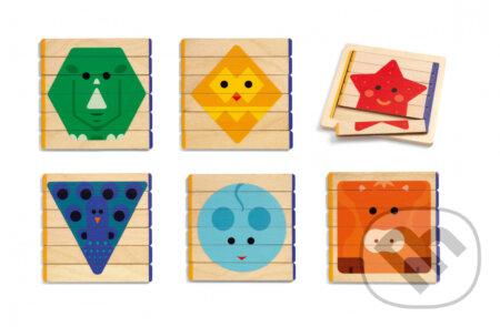 PuzzlesBasic - prvá edukatívna hračka - Djeco