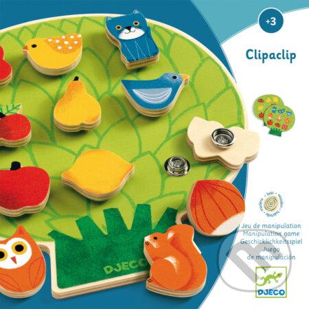 Clipaclip - drevená edukatívna hračka - Djeco