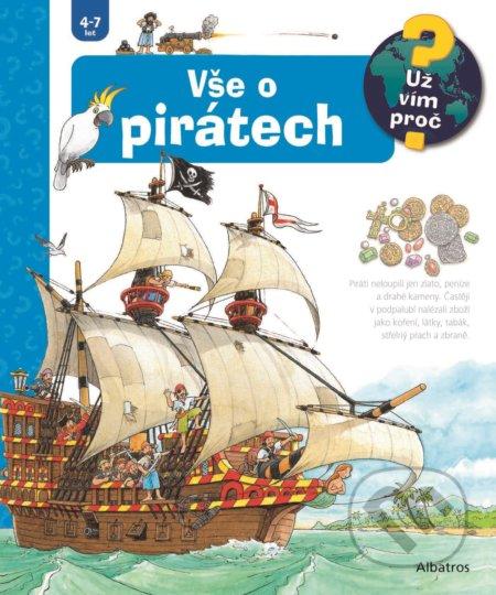 Vše o pirátech - Andrea Erne, Peter Nieländer (ilustrátor)