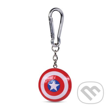 Prívesok na kľúče Captain America: Štít - Captain America