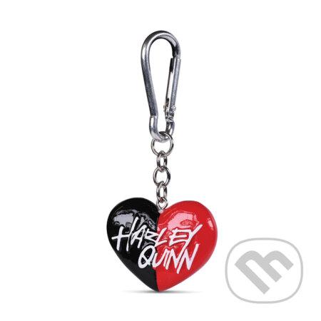 Prívesok na kľúče Harley Quinn: Srdce - HARLEY QUINN