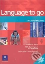 Language to go - Pre-Intermediate - Gillie Cunningham, Sue Mohammed