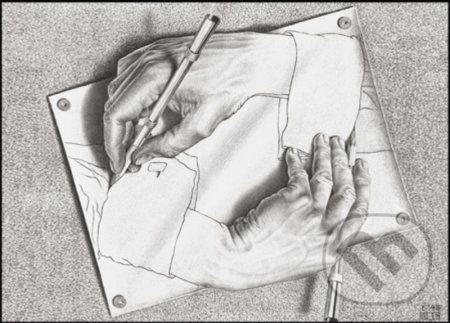 Escher - Drawing Hands -