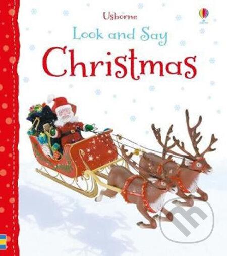 Look and Say Christmas - Felicity Brooks, Jo Litchfield (ilustrátor)