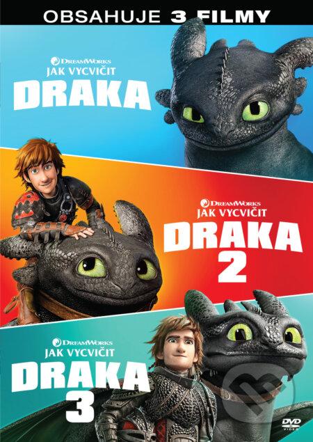 Jak vycvičit draka kolekce 1.-3. 3DVD DVD