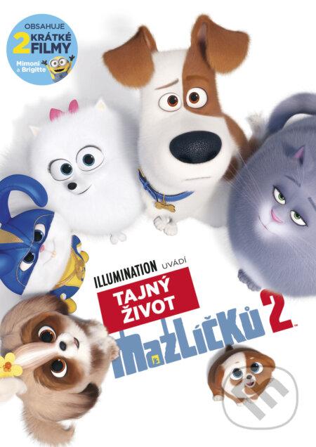 Tajný život mazlíčků 2 DVD