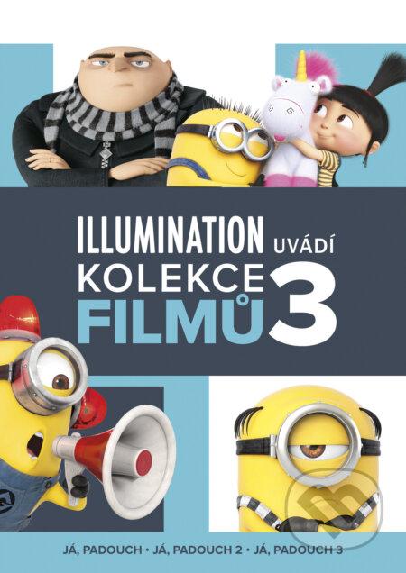 Já, padouch 1 - 3 (kolekce) DVD