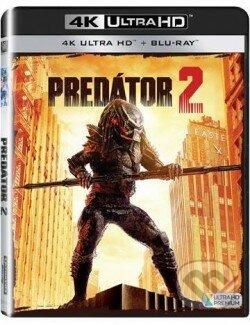 Predátor 2 2BD (UHD+BD) (SK) DVD