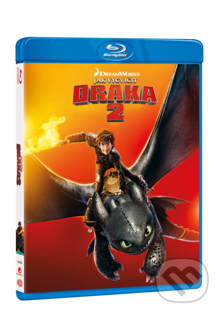 Jak vycvičit draka 2 Blu-ray