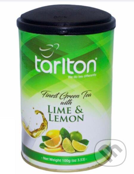 TARLTON zelený čaj Lime & Lemon - Bio - Racio