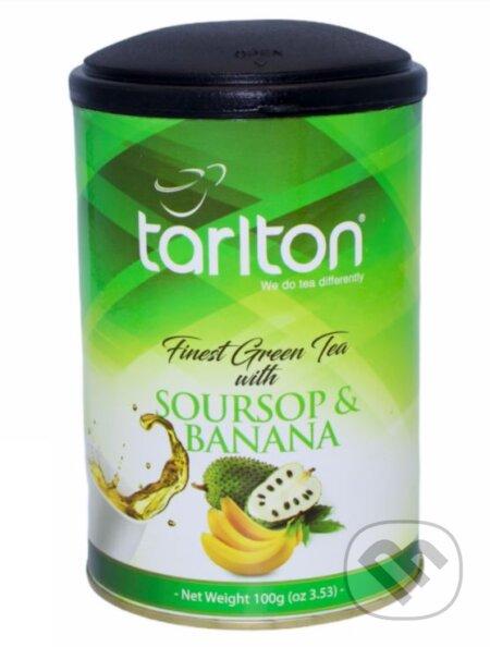 TARLTON Green Soursop & Banana - Bio - Racio