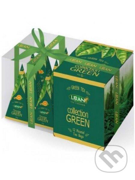 Čaj zelený GREEN COLLECTION 3x4x2g Liran pyr. - Liran