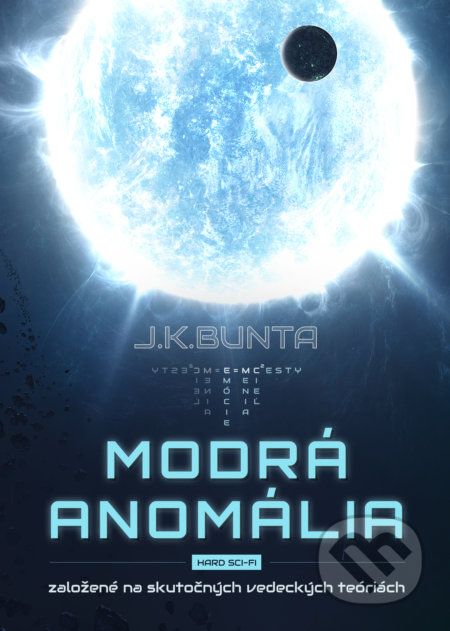 Modra anomalia - hard sci-fi