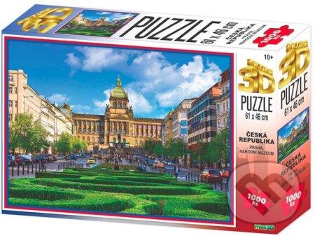 3D Puzzle Praha - Národní muzeum - EPEE