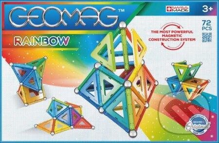 Geomag Rainbow 72 dílků - Geomag