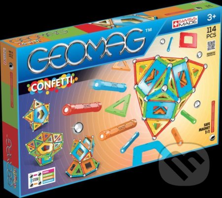 Geomag Confetti 114 dílků - Geomag