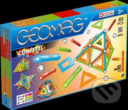 Geomag Confetti 83 dílků - Geomag