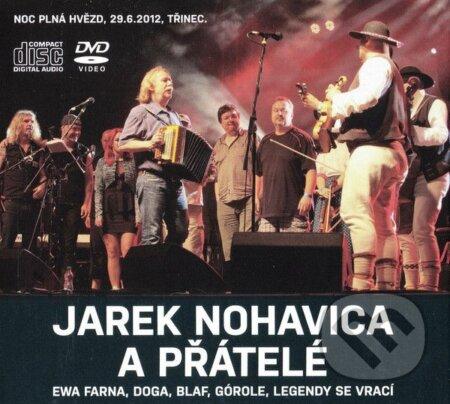 Jaromír Nohavica: Jaromír Nohavica a přátelé (2cd+dvd) - Jaromír Nohavica