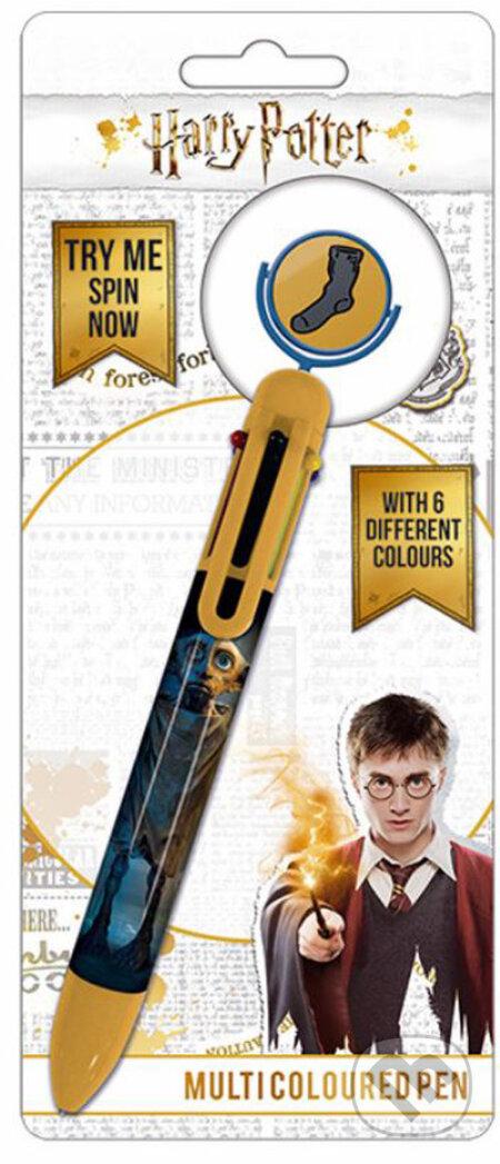 Plastové viacfarebné pero Harry Potter: Dobby - Harry Potter