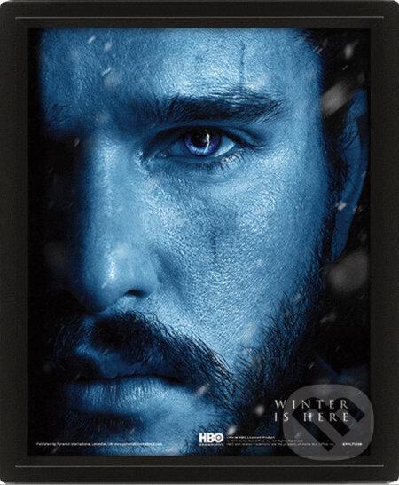 3D obrázok Game of Thrones: Jon snow vs Knight King