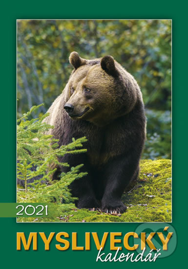 Kalendář 2021 - Myslivecký, nástěnný - BB/art