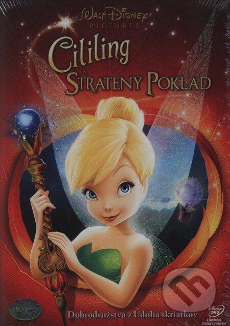 Cililing a stratený poklad DVD