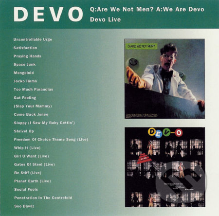 Devo: Q:are We Not Men? A:we Are - Devo