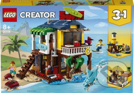 Surferský plážový domček - LEGO