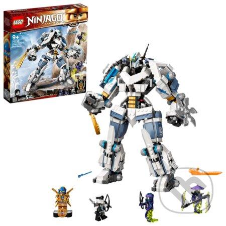 Zaneova bitka s titanskými robotmi - LEGO