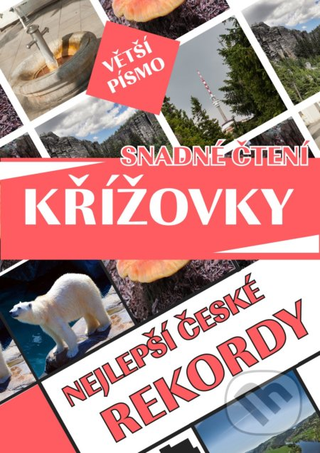 Křížovky - Nejlepší české rekordy - Bookmedia