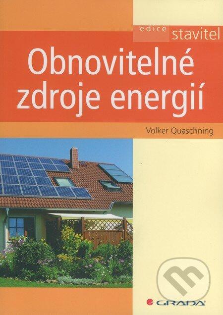 Obnovitelné zdroje energií - Volker Quaschning