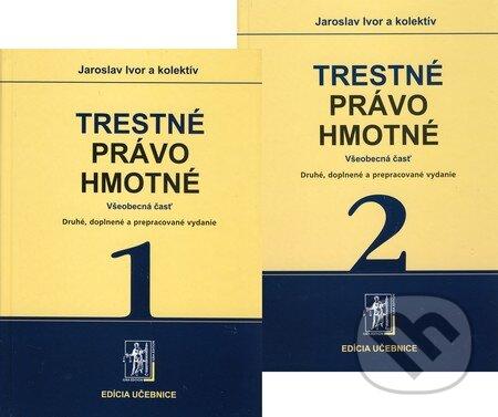 Interdrought2020.com Trestné právo hmotné (1. a 2. zväzok) Image