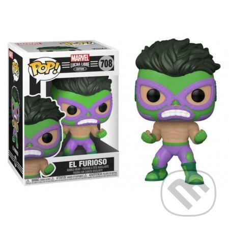 Funko POP Marvel: Luchadores - Hulk - Funko