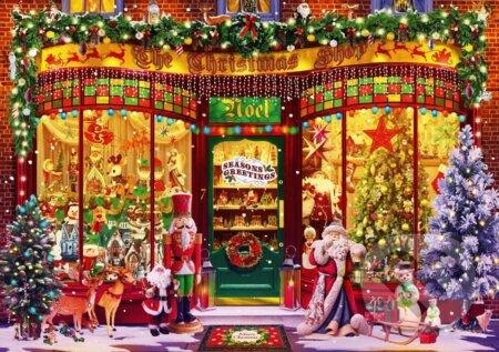 Festive Shop - Bluebird