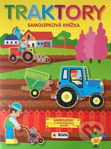 Traktory - Samolepková knížka - SUN