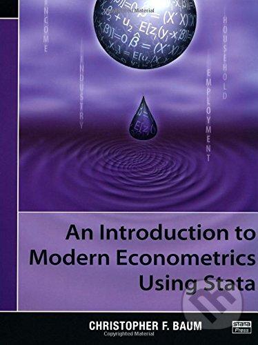 An Introduction to Modern Econometrics Using Stata - Christopher F. Baum