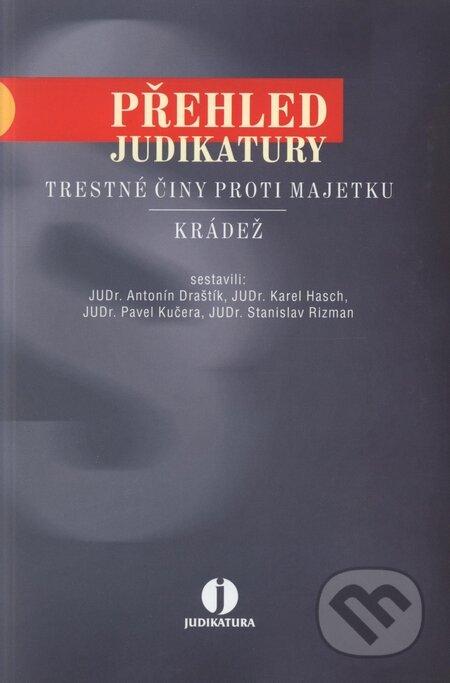 Interdrought2020.com Přehled judikatury: trestné činy proti majetku - Krádež Image