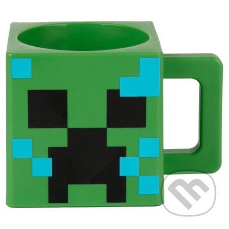 Plastový 3D hrnček Minecraft: Creeper