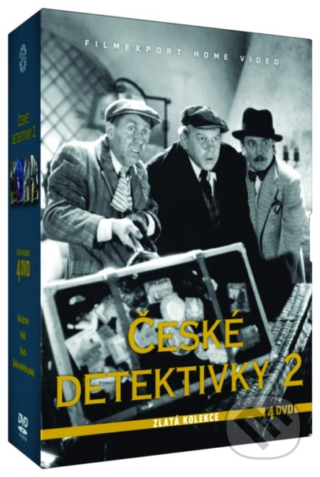 České detektivky 2 - Zlatá kolekce DVD
