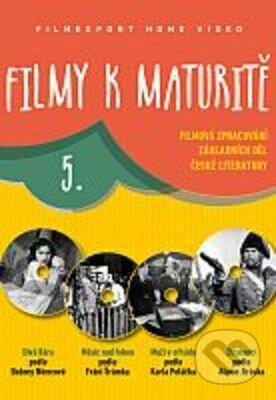 Filmy k maturitě 5 - kolekce DVD