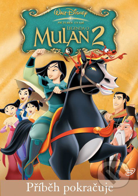 Legenda o Mulan 2 DVD